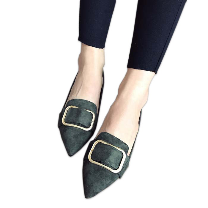 sexy suede flats shoes women Korean fashion woman loafers spring casual leather slip on shoes rubber Doug shoes ladies flats odetina 2017 new women pointed metal toe loafers women ballerina flats black ladies slip on flats plus size spring casual shoes
