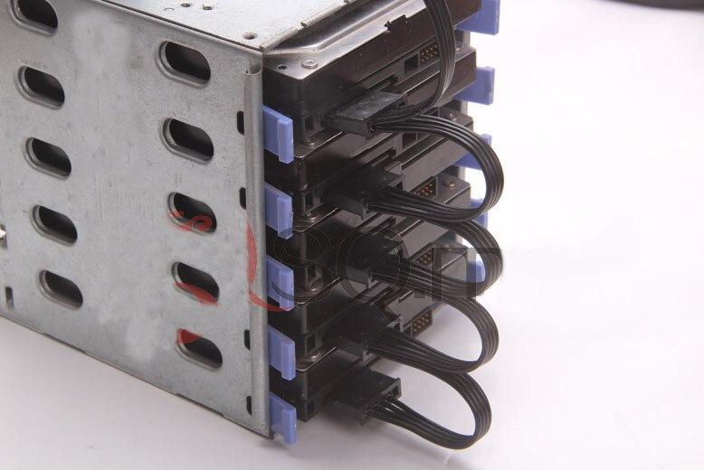 50 pcs/lot 4Pin IDE Molex à 5 ports 15Pin SATA câble d'alimentation cordon 18AWG fil pour disque dur HDD SSD PC serveur bricolage noir - 5