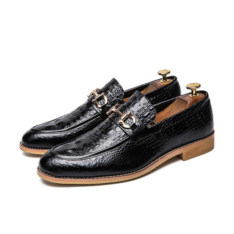 Summer Leather England Business Leather Male Dress Leather Shoes Fashion Hot Selling Men Shoes Leather Casual Shoes Men