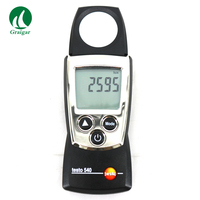 Testo 540 Pocket Digital Pro Light Tester Logger Handy Lux Meter 0 to 99 999 testo540|Level Measuring Instruments|   -
