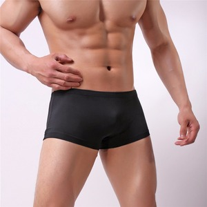 Wholesale Summer Swim Men Boxer Silk qui
