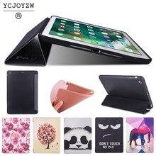 цена на Case for Apple iPad Mini 3 Mini 2 Mini 1.PU leather cover+TPU soft full-angle guard-Smart sleep wake up For ipad mini123-YCJOYZW