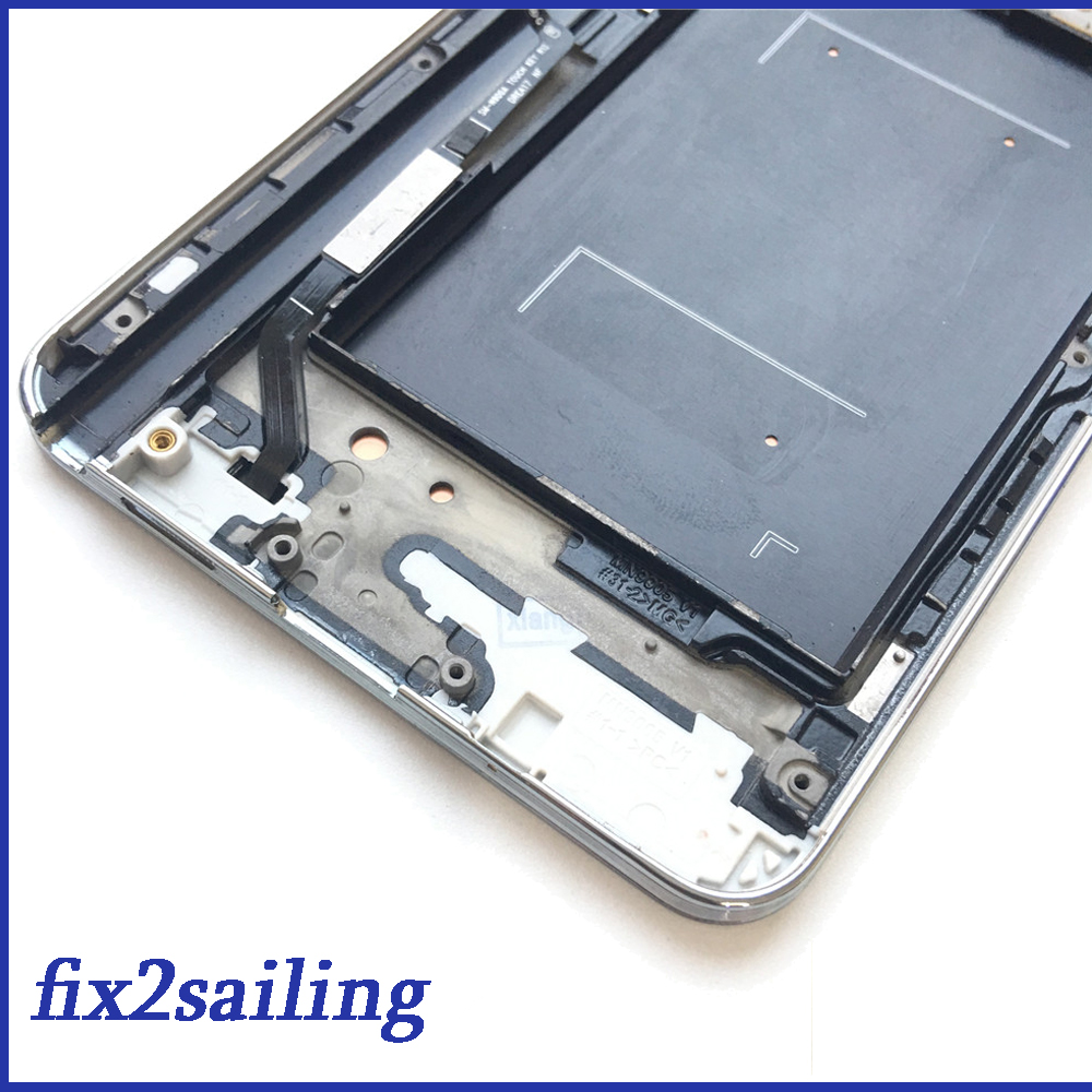 Super AMOLED LCD Display 100% Tested Working Touch Screen Frame Assembly For Samsung Galaxy Note 3 III N9005 N900 White/Black