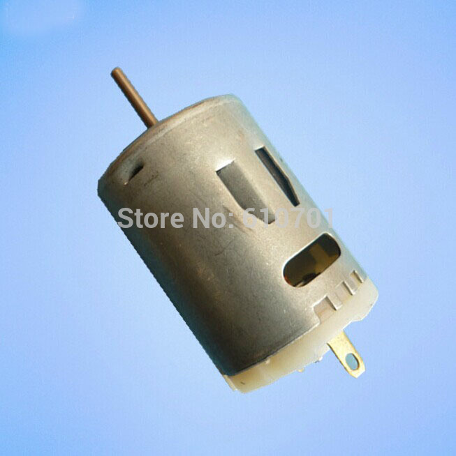 12V DC 10000RPM 2 Pin Connector 27mm Dia. Mini Motor Replacement R385 380