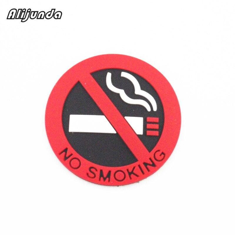 3 Stks. Rubber Geen Roken Waarschuwing Teken Sticker Voor Chevrolet Cruze Trax Aveo Sonic Lova Sail Epica Captiva Malibu Volt Camaro Vraag Die Groter Is Dan Het Aanbod