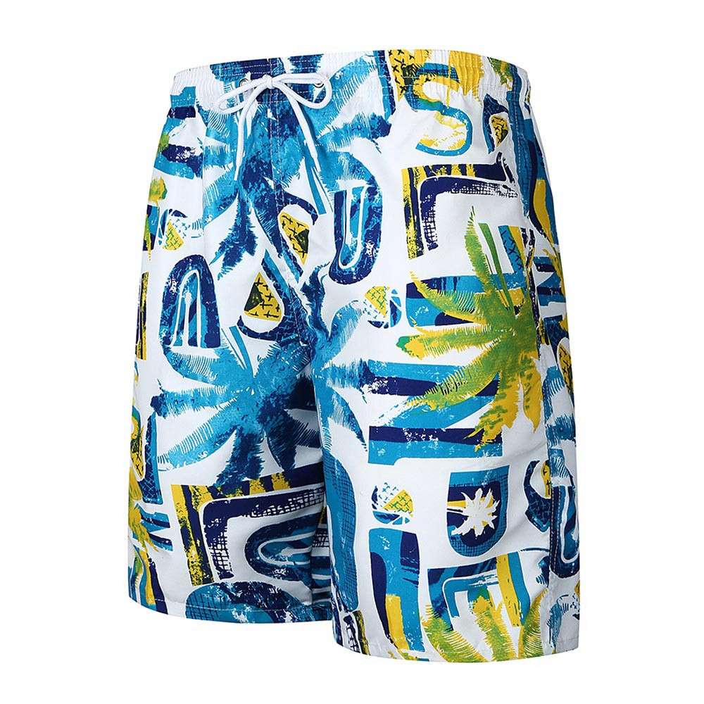 2018 Neue Heiße Mens Casual Gedruckte Tasche Beach Arbeits Casual Männer Kurze Hosen Shorts Hosen Für Männer Tropfenverschiffen Mit Dem Besten Service