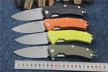 New tactical folding knife Sleipner Blade G10 handle KUR outdoor camping hunting knives survival pocket knife utility hand tool