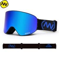 NANDN SNOW Ski Goggles Men Women Double Lens UV400 Anti fog SKIing Eyewear Snow Glasses Adult Skiing SnowBOARD Goggles
