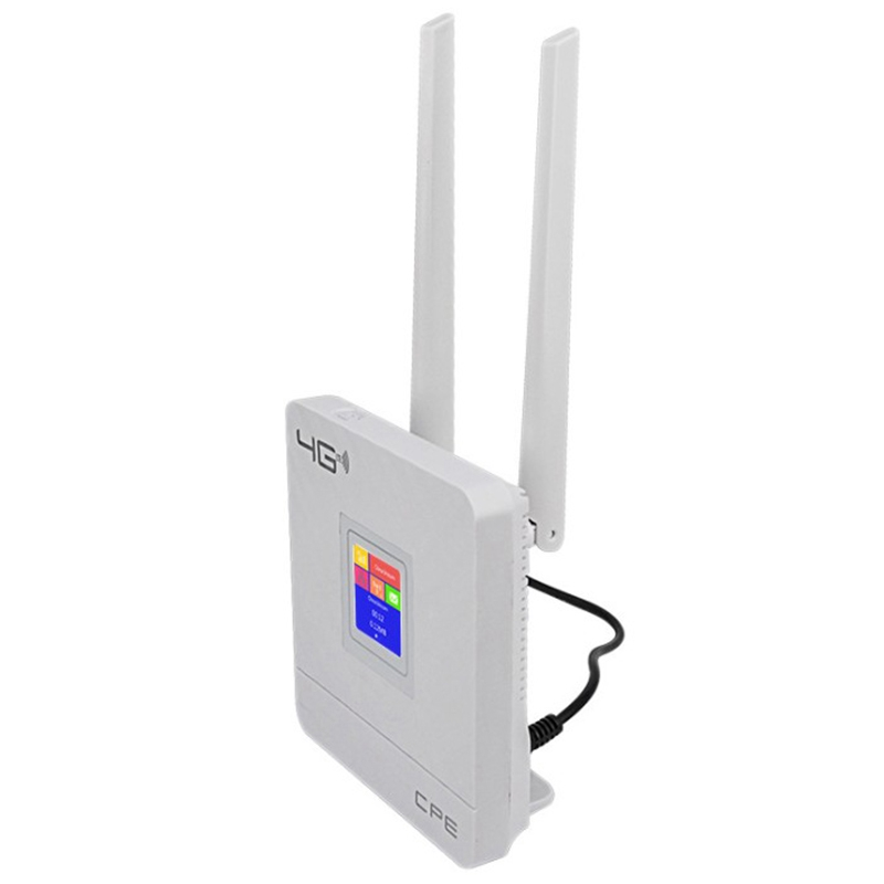 Cpe903-1 3G 4G Portable Hotspot Lte Wifi Router Wan/Lan Port Dual External Antennas Unlocked Wireless Cpe Router+ Sim Card Slot
