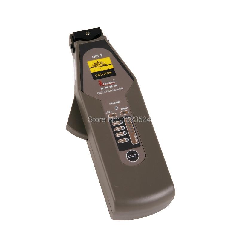 Grandway OFI-3 High Performance Optical Fiber Identifier , Live Fiber Optical Identifier 900~1650nm