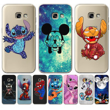 Luxury Stitch Mickey marvel For Samsung Galaxy A10 A20 A30 A40 A50 A70
