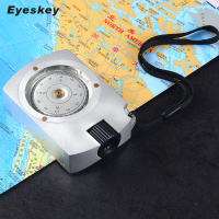 Eyeskey Mulitifunctional Survival Compass Camping Hiking Compass Digital Compass Map Measurer Distance Caculator