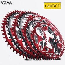 Велосипедная звезда VXM, круглая, узкая, широкая, 130BCD 50T 52T 54T56T 58T 60T, запчасти для дорожного велосипеда