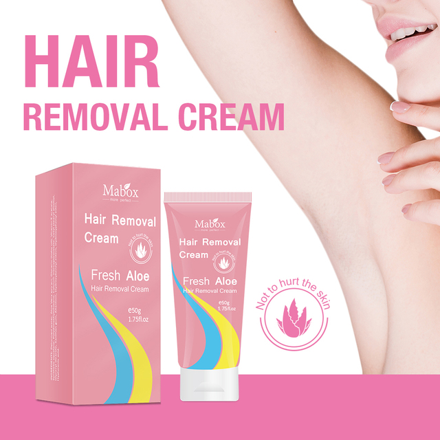 Mabox hair removal cream stone hair removal super natural painless soft does not hurt the skin is not irritating