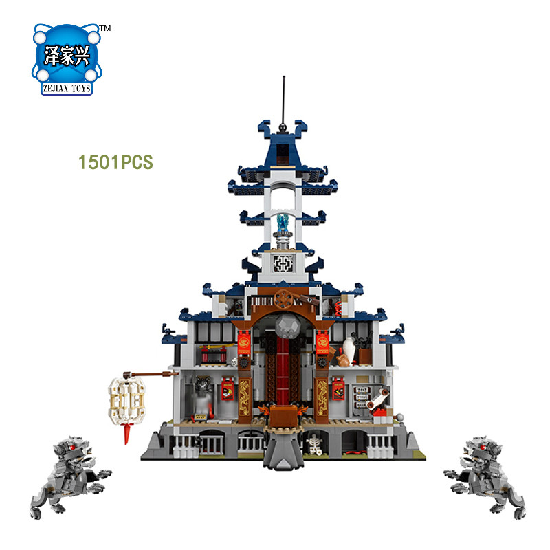 2017 Movie Ninja Temple of The Ultimate Weapon Building Block Nya Kai Zane Cole Llolyd Jay Figures Bricks Compatible Lepins Toys emmett cox retail analytics the secret weapon