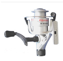 Free Shipping 4 axis 5000 series Plastic head rear drag spinning reels high quality left right