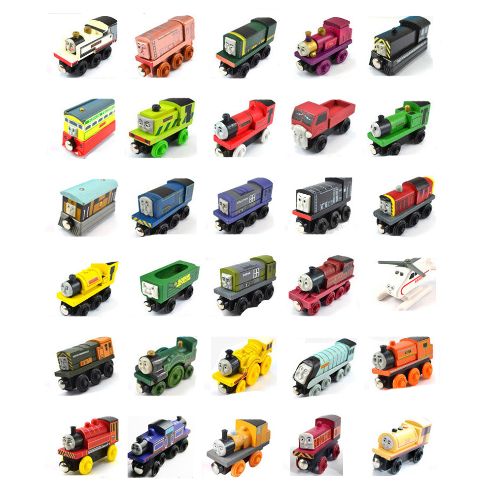 Cars Toy Cars Thomas And Friends  Wooden Railway  Train Toy Car Thomas For Children Kids Gift Trains Mod Cars 3 Hot Wheels