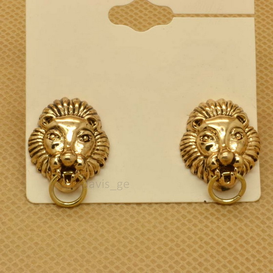 Online Buy Wholesale gold lion earrings from China gold ...