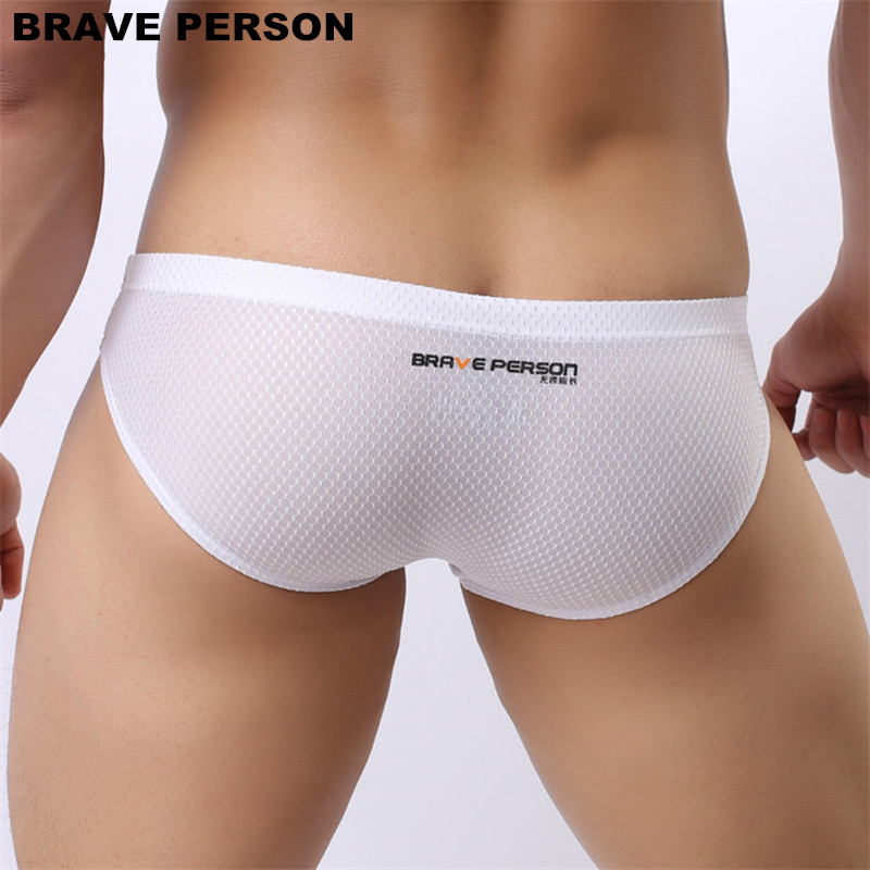 Brave Person brand underwear men briefs fashion sexy men 39 s briefs colorful underpants high quality nylon briefs for man B1151 in Briefs from Underwear amp Sleepwears