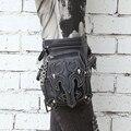 Mestre de aço steampunk unisex homens e mulheres Do Messenger ombro saco de viagem feminino saco da cintura bolsa de perna casuais