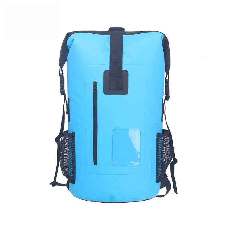 30L Outdoor Waterproof Backpack Bag Dry Bags Drifting Camping Swimmi Beaches High Multifunctional PVC