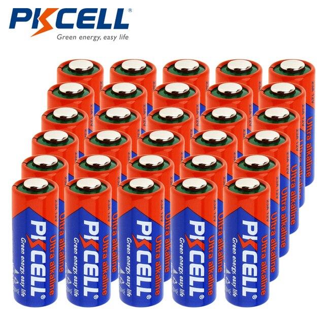 30Pcs*PKCEL 12V 23A Battery MN21 A23 Alkaline Batteries For Doorbell