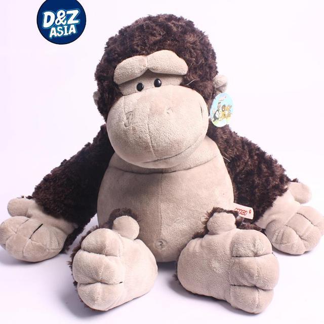 NICI Jungle series Gorilla giraffes lion tiger sika dee orangutan plush toys Birthday valentine's day gift  wholesale