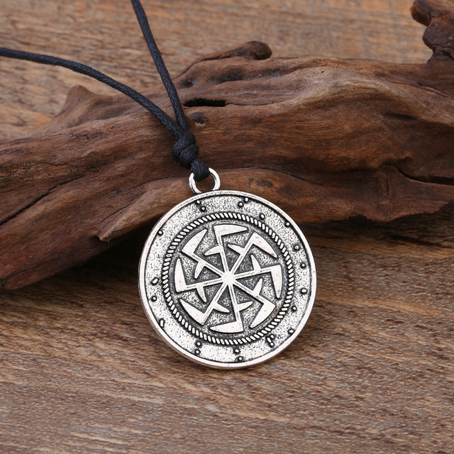 Online Shop Teamer Vintage Pagan Talisman Magic Charm Necklace