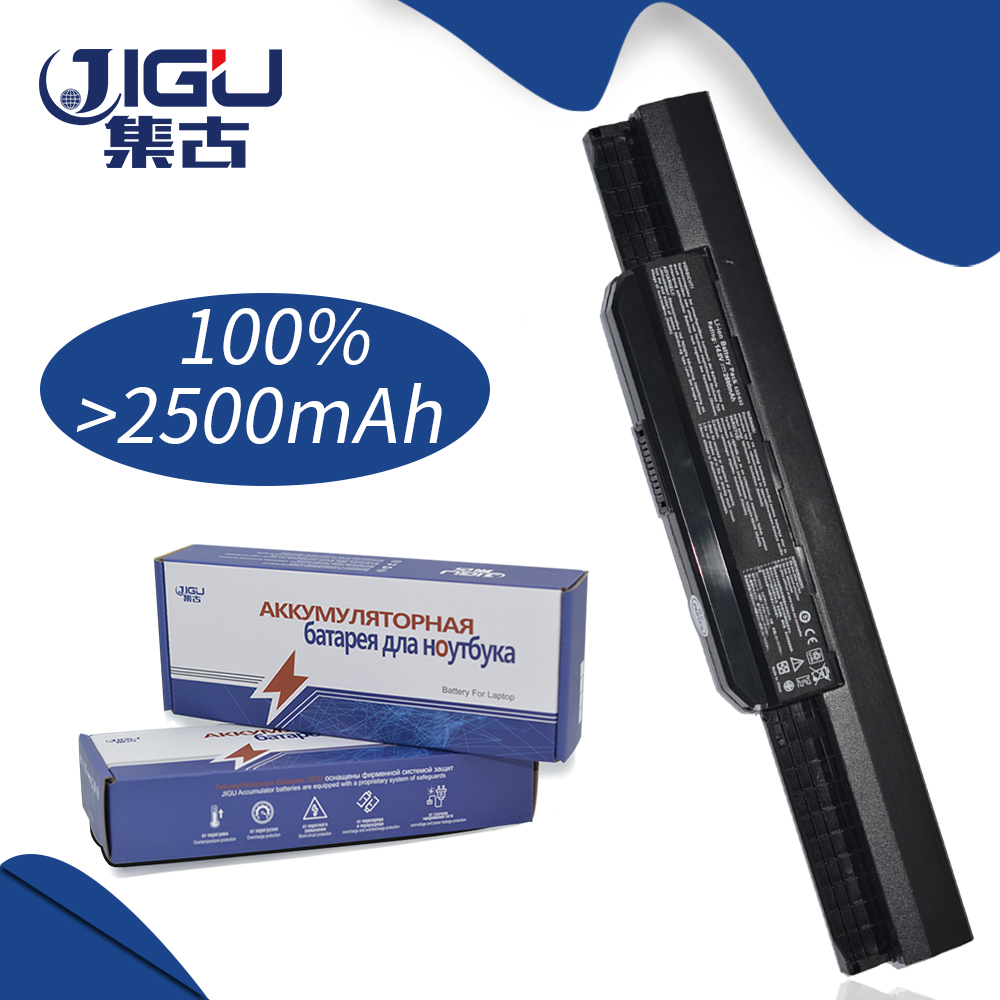 JIGU Laptop Battery K54HR X53T For ASUS K53JG X43V P53F K53SJ P43J X44HO K53SC X53SJ Series K53SK PRO8G K53SM K84HY X43JFK53JN