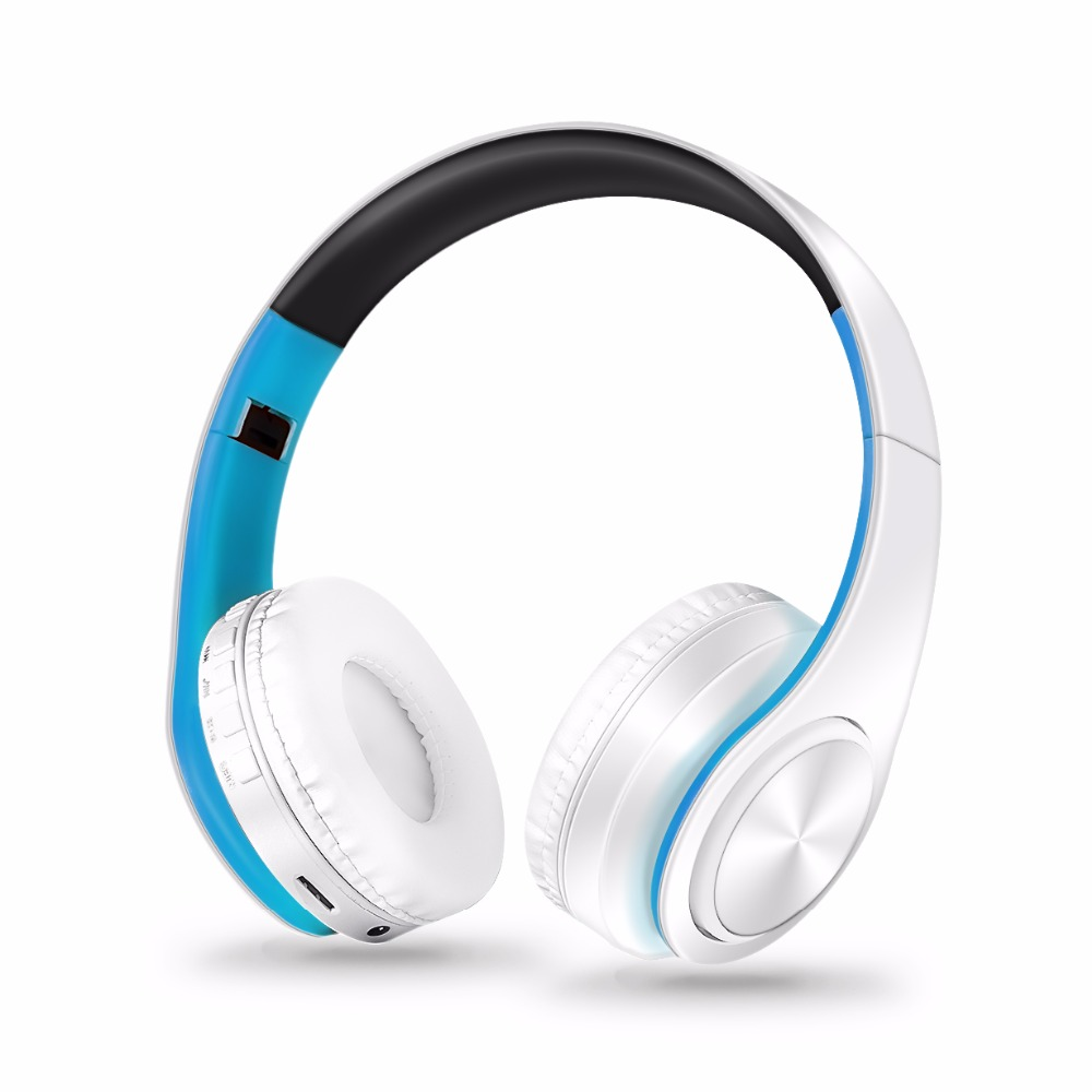 Factory supply Wireless Bluetooth headphone stereo headset music earphone support SD card with mic for mobile ipad iphone huawei 3