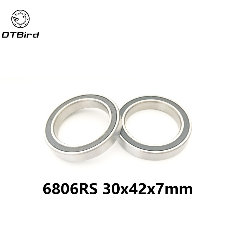 -2RS 61806 2RS SI3N4 hybrid ceramic ball bearing 30x42x7mm for BB30