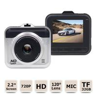 Hidden HD 1080P DVR Vehicle Camera Video Recorder Dash Cam 2.2inch LCD Screen Night Vision G Sensor Drop Shipping
