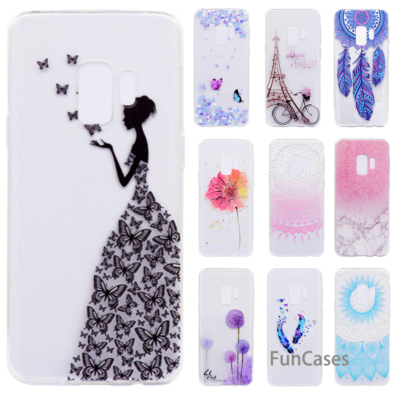Case For Meizu M6 Silicone Case For Meizu M6 Note Case Transparent Soft Flower Marble Protective Back Cover Meilan vendita image