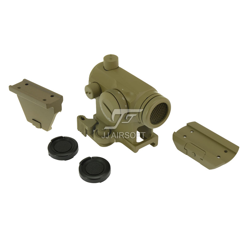 JJ Airsoft Micro 1x24 Red Dot with Killflash / Kill Flash , Offset Rail Mount, QD Riser Mount and Low Mount (Tan) new original f155040 printhead print head for epson r250 cx3500 cx4700 cx5900 cx8300 cx9300 cx4100 cx4200 cx4600 cx6900 printer