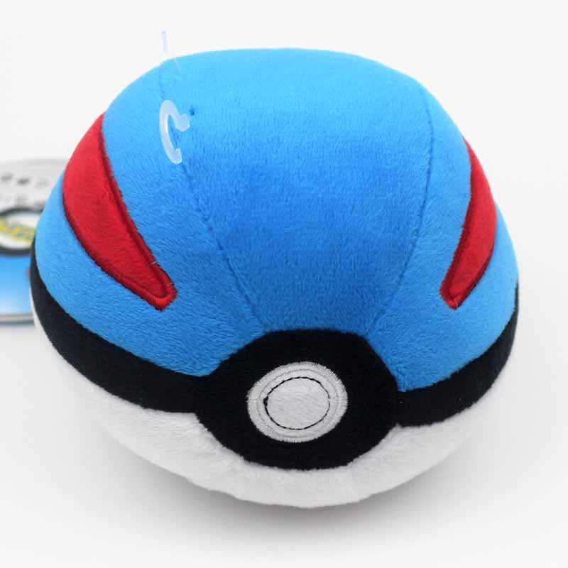 Image 4 - 6 Styles Pokeball High Quality Cute 12CM Plush Toys Cartoon Anime Stuffed Dolls Children Birthday Gift-in Action & Toy Figures from Toys & Hobbies