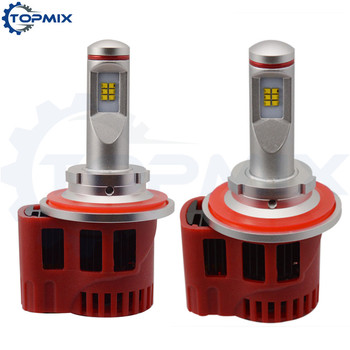 2 X H13 9008 90W 9000LM ZES Led Car Headlight Conversion Kit Driving Fog Lamp Bulbs 5000K/6000K Auto Head Light Hi Low Beam