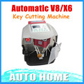 Newest Automatic V8/X6 Key Cutting Machine With Free V2014 Database Fast shipping!