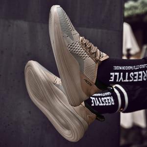 Image 3 - 2019 Mới Giày Nam Sneaker Cổ Size Lớn 39 47 Mùa Hè Nhà Thiết Kế Máy Bay Huấn Luyện Thoáng Khí Thoải Mái Thời Trang Siêu Nhẹ Nam # AB1973