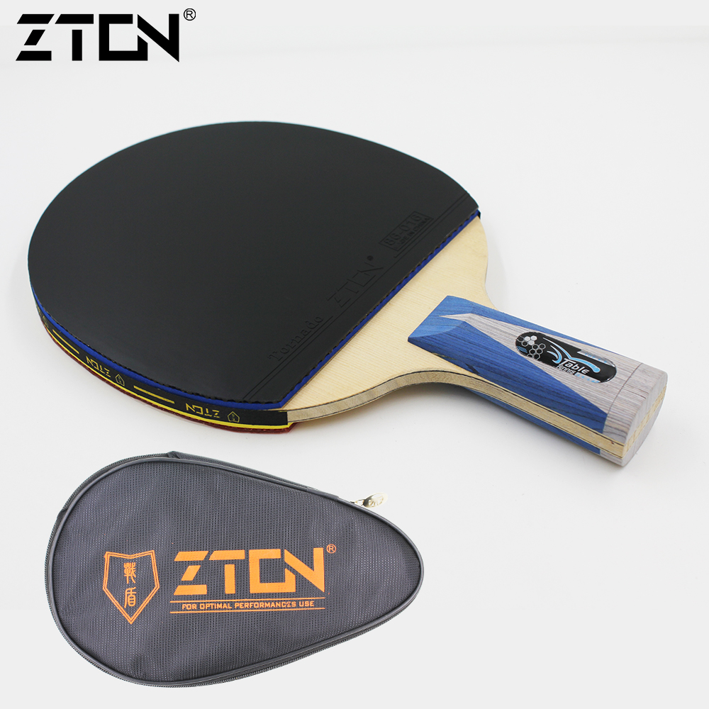 Brand Quality 986 Table tennis racket Ddouble Pimples-in rubber Ping Pong Racket tenis de mesa table tennis