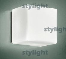 itre lighting. Big Size Itre Cubi Wall Lamp Sconce Ufficio Stile Italy Design Modern Light Satin Glass Lighting H