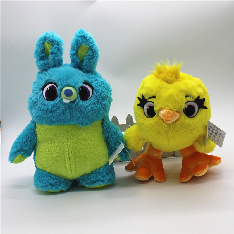 1piece Toy Story 4 the new character rabbit and duck  Stuffed Super Soft Toys Children Brinquedos toys toy story bunny toys
