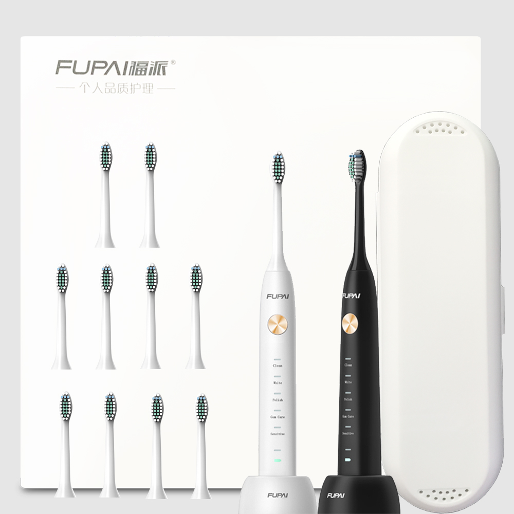 2018 new 31000 times/min Electric Toothbrush Sonic Eight DuPont heads*12 Wireless Oral Hygiene timer Ultrasonic Whitening Teeth 2017 new kemei km 908 chargeable electric toothbrush reciprocating rotation profession whitening teeth wireless ultrasonic sonic