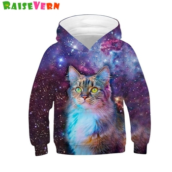 Wolf 3D Print Boys Girls Hoodies Winter Autumn Outerwear Kids Hooded Sweatshirts Childres Long Sleeve Pullover Tops