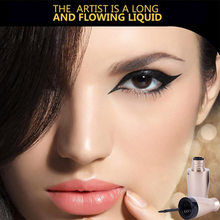 Brand Eyeliner Liquid Black Eyeliner Waterproof Liquid Make Up Beauty Comestics fast dry teachnology charming Eyes(China)