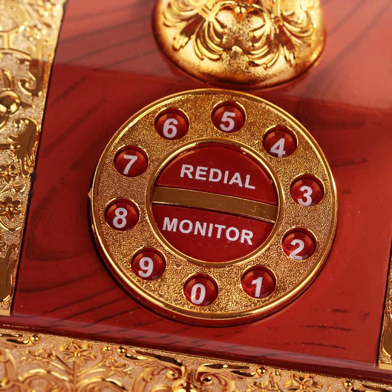 クリエイティブオルゴール古典的な電話番号古典オルゴールジュエリーのための家の装飾 & 愛好家のギフトカイシャ · デ · ムジカ