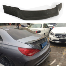 For Mercedes CLA Spoiler CLA45 W117 C117 Carbon Fiber Rear Trunk Wings Spoiler cla 200 250 260 Renntech 2013 2014 2015 2016 - UP цена