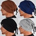 Шапочки для Мужчин Случайные 4 Сплошной Цвет Хлопка Шляпы Хип-поп Спорт Skullies Unisex Caps Мужчины Gorro LZ004