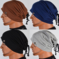 Beanies for Men Casual 4 Solid Color Cotton Hats Hip-pop Sport Skullies Unisex Caps Male Gorro LZ004