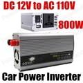 DC 12 V para AC 110 V com carregador USB car power inverter converter 800 W transformador de tensão senoidal modificada onda