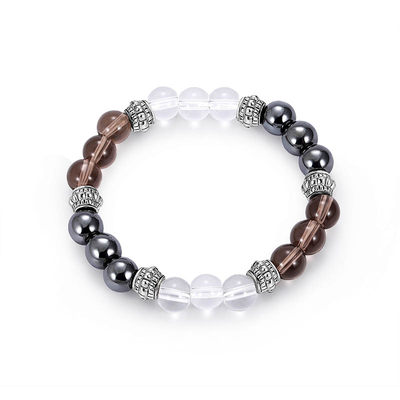 Cool Bracelet Beads Magnet Hematite Beads Bracelet Slimming Product Hematite Stone Therapy Health Care